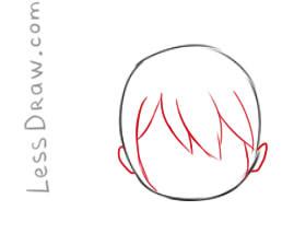 frisk drawing frisk