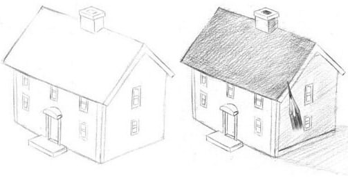 How to draw home 3d how to draw home 3d