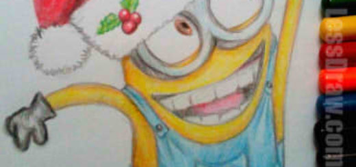 How To Draw New Year Minion