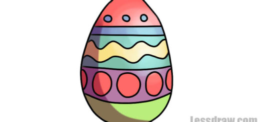 How to Draw Easter Egg