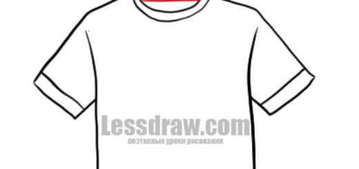How to Draw T-shirt